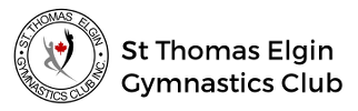 St Thomas Elgin Gymnastics Club logo